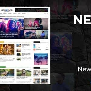 Newspaper WordPress Theme free download