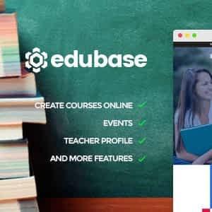 Edubase - Learning & Education WordPress Theme Latest Version Download