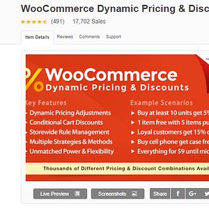 WooCommerce Dynamic Pricing & Discounts Wordpress Plugin Latest Version Download