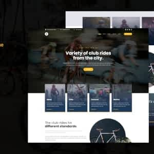 Zapedah - Cycling Club WordPress Theme
