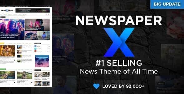 Newspaper WordPress Theme free download