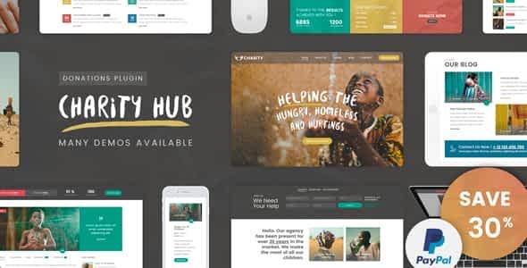 [Download] Charity Foundation - Charity Hub Wordpress Theme