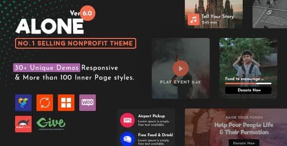Charity Multipurpose Non-profit WordPress Theme Latest Version Download