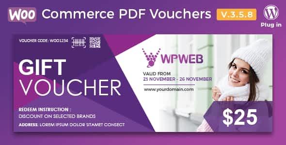 WooCommerce PDF Vouchers - WordPress Plugin