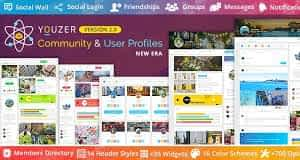 Youzer - Buddypress Community & Wordpress User Profile Plugin Latest Version Download