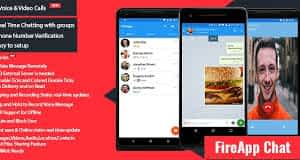 FireApp Chat - Android Chatting App with Groups Inspired by WhatsApp Latest Version Download
