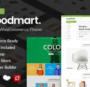 WoodMart - Responsive WooCommerce WordPress Theme Latest Version