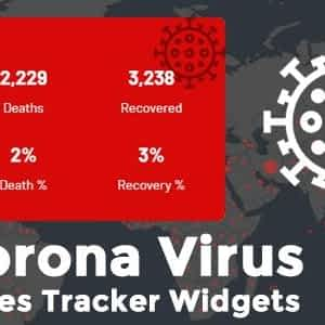 Corona Virus Cases Tracker Widgets