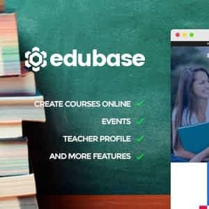 Edubase - Learning & Education WordPress Theme Latest Version Download