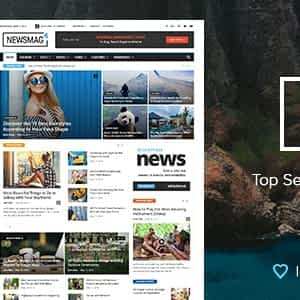 Newsmag News Magazine Newspaper Wordpress Theme free download