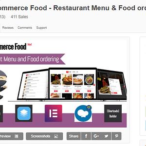 WooCommerce Food - Restaurant Menu & Food ordering Wordpress Plugin Latest Version Download