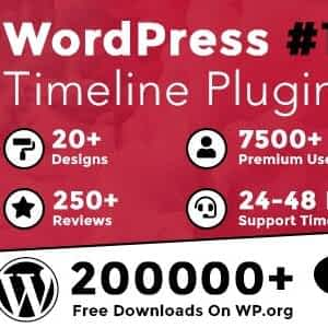 Cool Timeline Pro - WordPress Timeline Plugin Latest Version Download