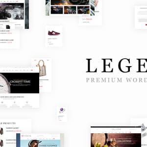 Legenda - Responsive Multi-Purpose WordPress Theme Latest Version Download