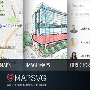 MapSVG: Interactive Vector maps / Image maps / Google maps - WordPress plugin