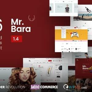 Mr.Bara - Responsive Multi-Purpose eCommerce WordPress Theme