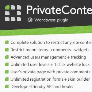 PrivateContent - Multilevel Content Plugin Latest Version