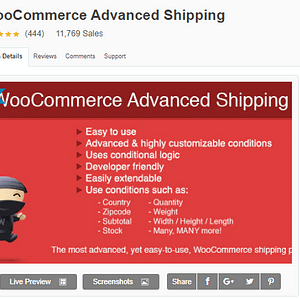 WooCommerce Advanced Shipping Premium Latest version Download