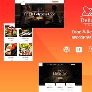 [Download] Deliciko - Restaurant WordPress Theme Latest Version Download