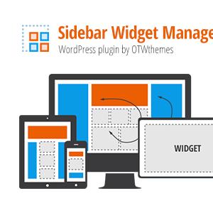 Sidebar & Widget Manager for WordPress