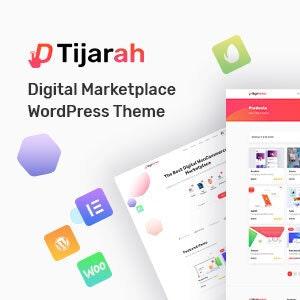 Tijarah - Digital Marketplace WooCommerce Theme Downlaod