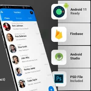 Android Chatting App with Voice Video Calls, Voice messages Groups Firebase Complete App YooHoo Latest Version Download