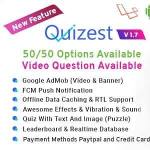 Download Quizest Complete Quiz Solutions With Android App And Interactive Admin Panel