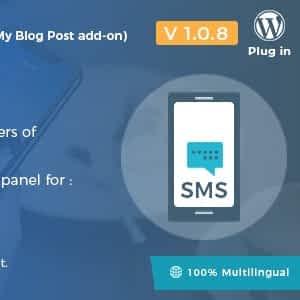 SMS Notifications - Follow My Blog Post add-on Latest Version Downlaod