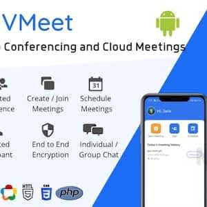 Vmeet - A Complete Video Conferencing Android App Latest Version Download