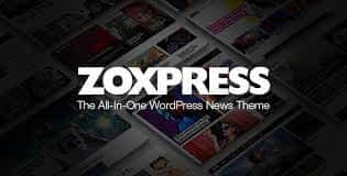 ZoxPress - The All-In-One WordPress News Theme Latest Version Download
