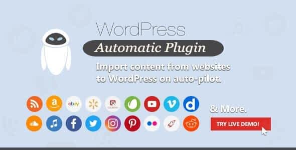 WordPress Automatic Plugin Latest Version free download