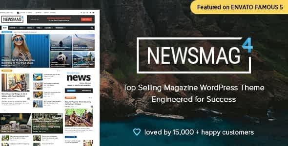 Newsmag News Magazine Newspaper Wordpress Theme free download