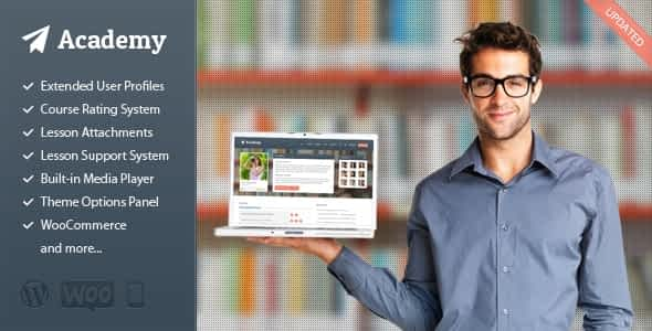 Academy - Learning Management Theme Latest Version