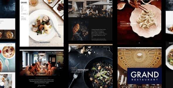 [Download Now] Grand Restaurant WordPress Theme Latest Version Download
