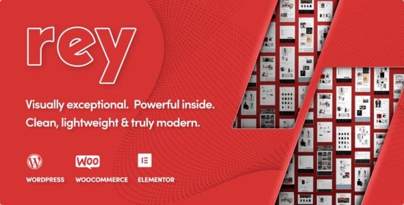 Rey - Fashion & Clothing, Furniture Wordpress Theme Latest Version Download