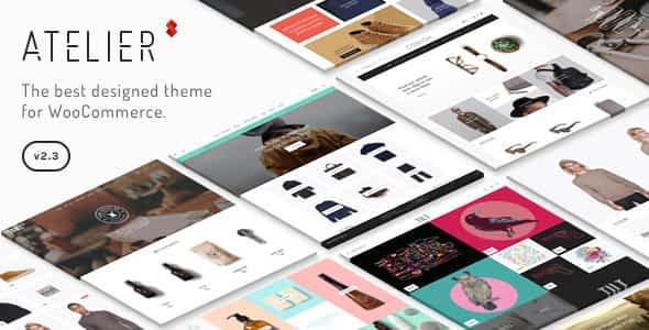 Atelier - Creative Multi-Purpose eCommerce Theme Download Latest Version