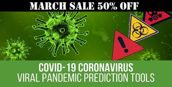 COVID-19 Coronavirus - Viral Pandemic Prediction Tools + Live Maps, Stats & Widgets