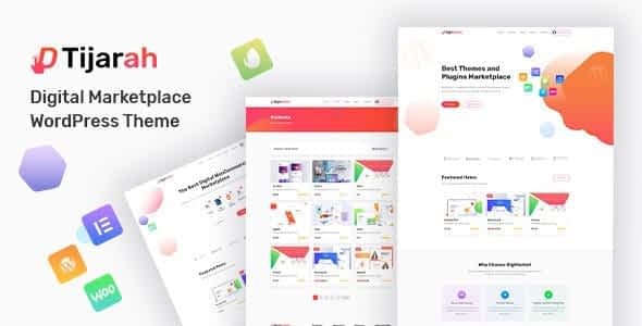 Tijarah - Digital Marketplace WooCommerce Theme Downlaod