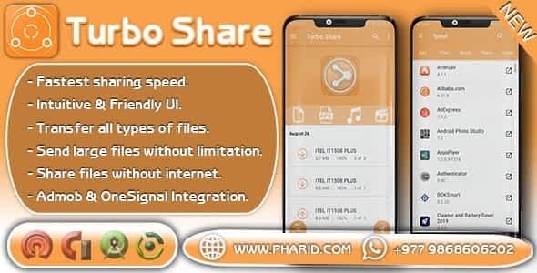 Turbo Share - ShareIt Clone | Ultimate Transfer & Share Download