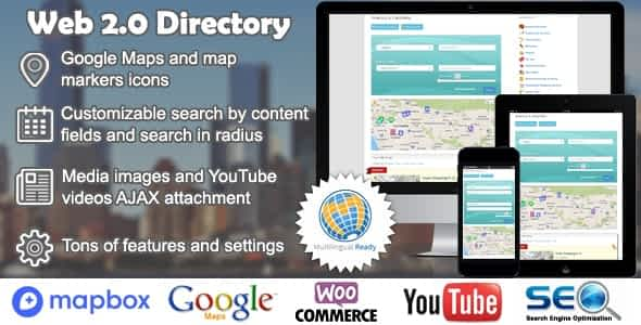 Web 2.0 Directory plugin for WordPress Latest Version Download