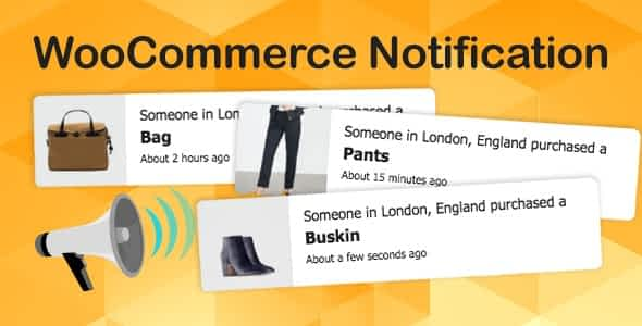 WooCommerce Notification Boost Your Sales - Live Feed Sales - Recent Sales Popup - Upsells Latest Version Downlaod