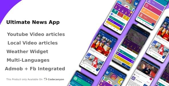 Ultimate News App (Video,Youtube,Weather,Survey) Latest Version Download