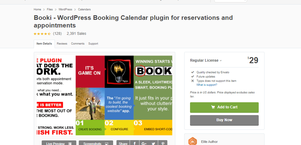 Booki - WordPress Booking Calendar plugin for reservations and appointments Latest Version